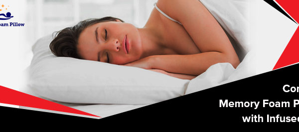 What Makes Contour Memory Foam Pillow with Infused Gel Special?
